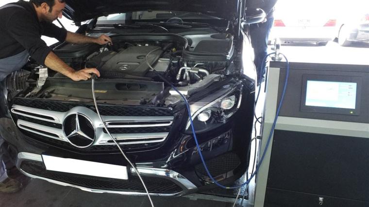 Компьютерная диагностика немецких авто ремонт электрики мерседес