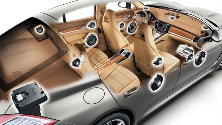 Дополнительная акустика салона Mercedes установка акустики мкрседес